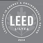 Logo: 2014 LEED Silver Certification