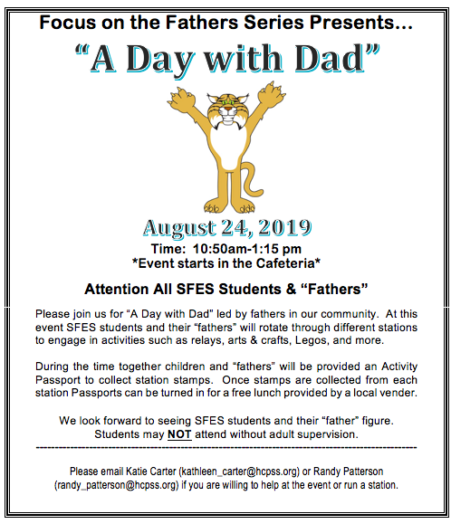 A Day with Dad, August 24, 2019, 10:50 - 1:15am