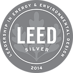 Logo: 2014 LEED Silver Certification
